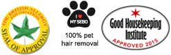 100% PET HAIR REMOVAL