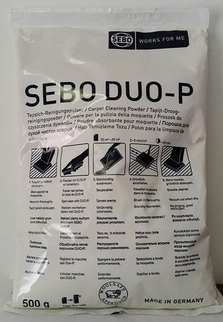 500g Duo-P Powder SM